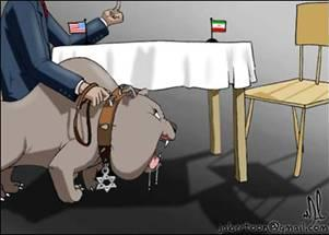 US Israel Iran Negotiations Cartoon
