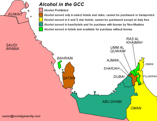 Where to buy alcohol in the GCC   The Gulf blog