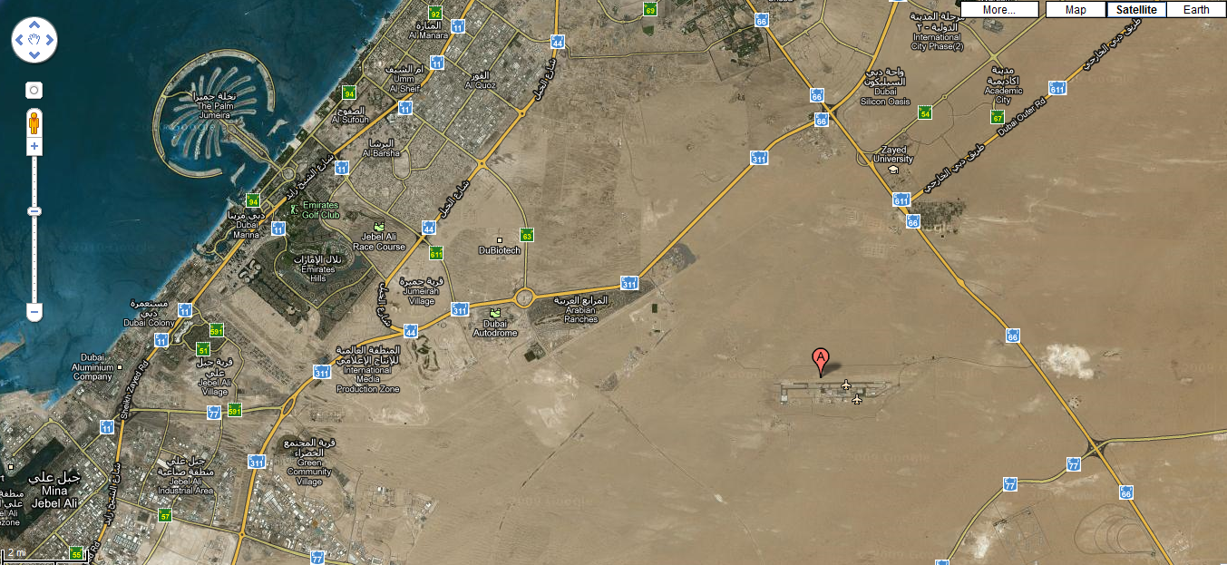 Camp Mirage Minhad Air Force Base The Gulf Blog - Us bases in kuwait map