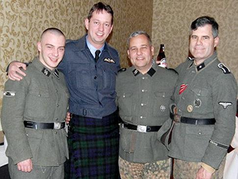 prince harry nazi uniform photo. Rich Iott#39;s Nazi photo 11,