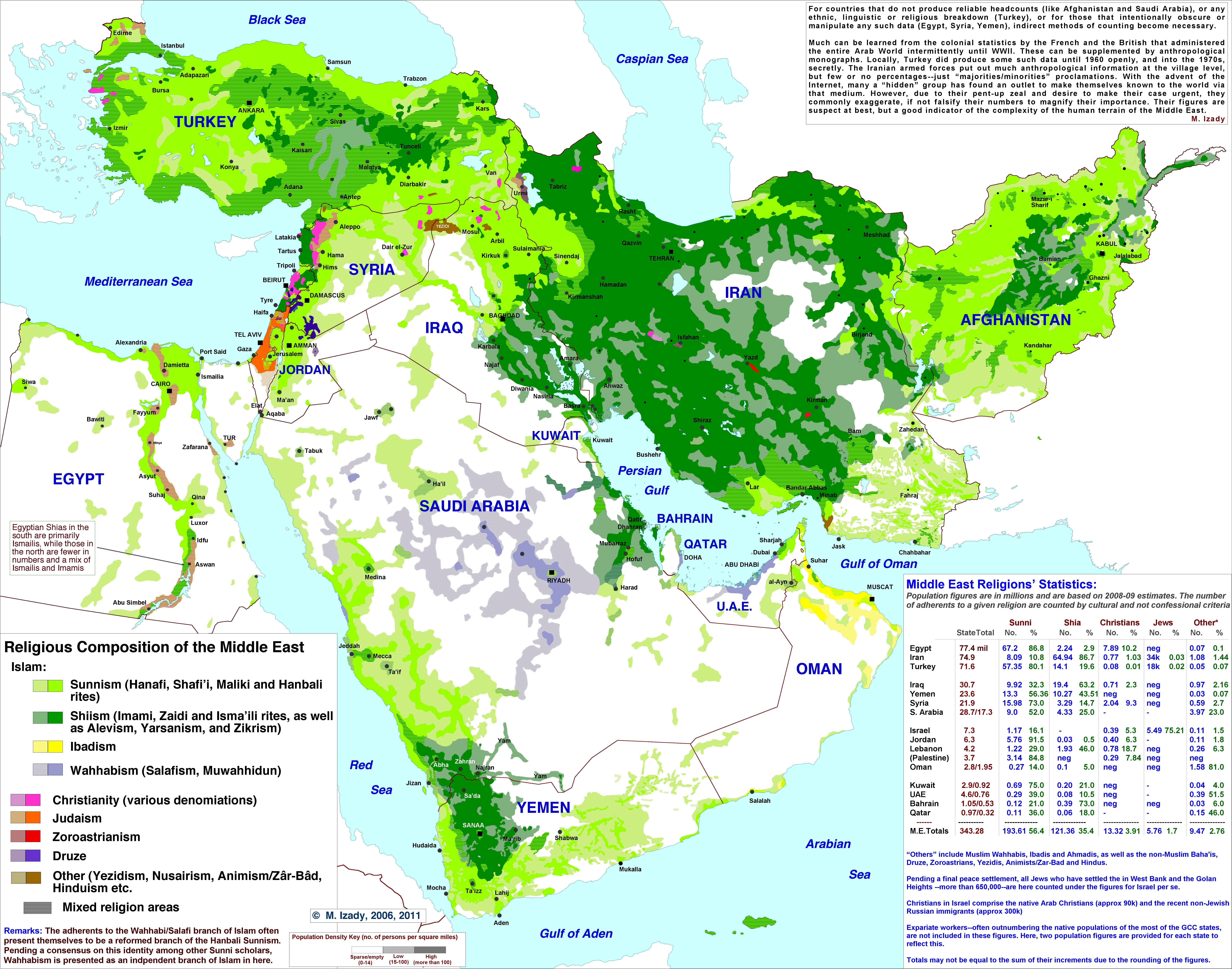Judaism map middle east | The Gulf blog